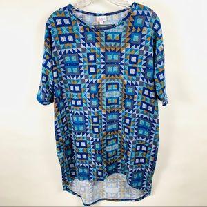LuLaRoe Irma Shirt Sz XS NWT
